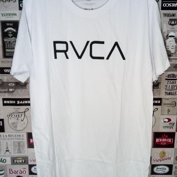Camiseta rvca 100% algodão tm gg branca