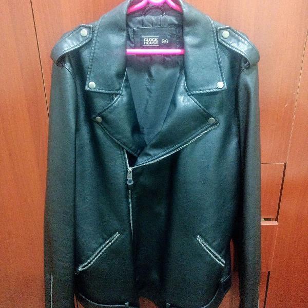 Jaqueta de couro sintético de ótima qualidade