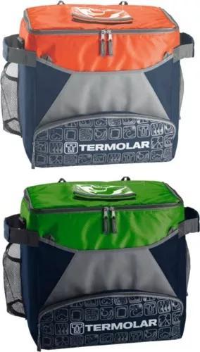 Kit 2 bolsas termicas termolar 32 litros com alça de ombro