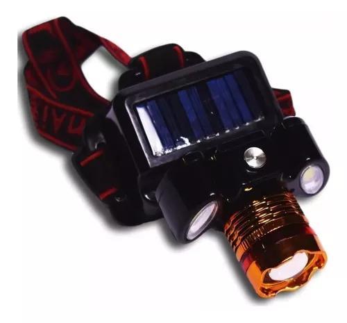 Lanterna / farol de cabeça recarregável bike led cree t6