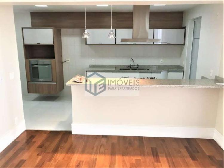 Lindo apartamento sem mobília com 170m² no campo belo!