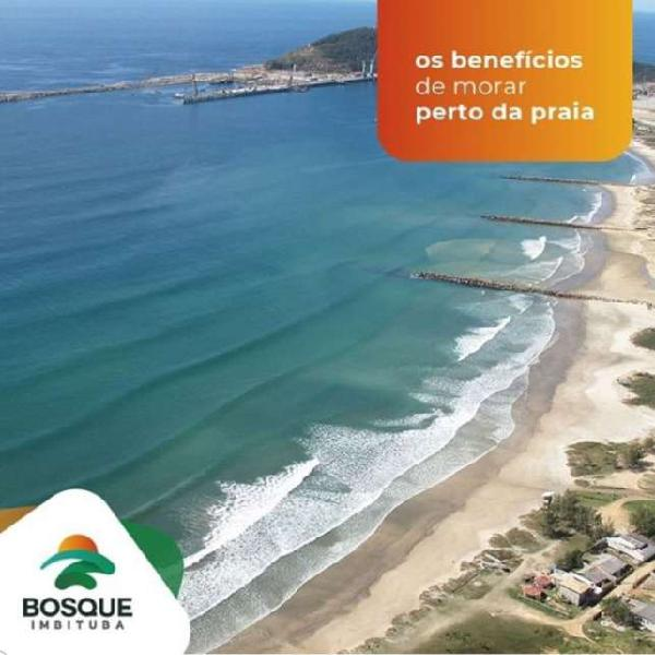 Lote 300 m2 próximo ao mar - nova brasília - imbituba - sc