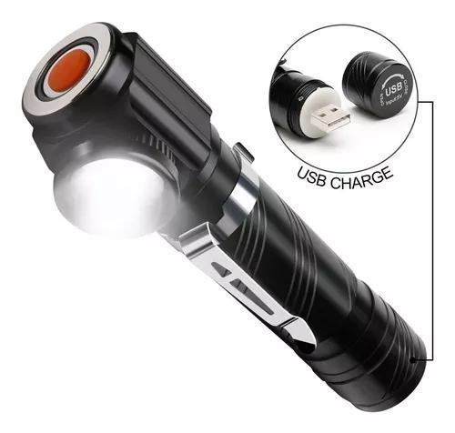 Mini lanterna tática 88000w 120000 lumens led cree t6 +