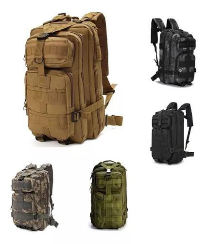 Mochila tática militar exercito 30l profissional camping