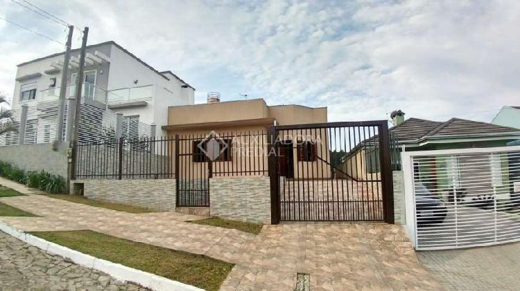 Novo hamburgo - casa padrão - lomba grande