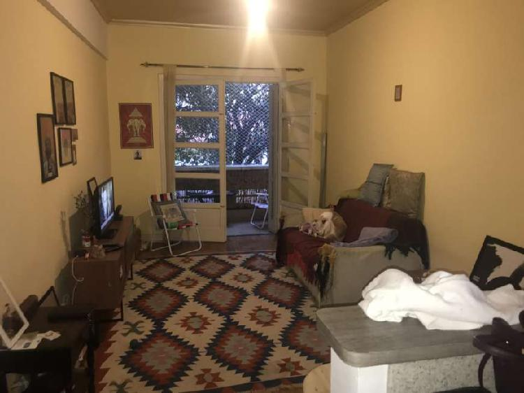 Santa cecilia - 1 dormitório - 1 vaga garagem - varanda