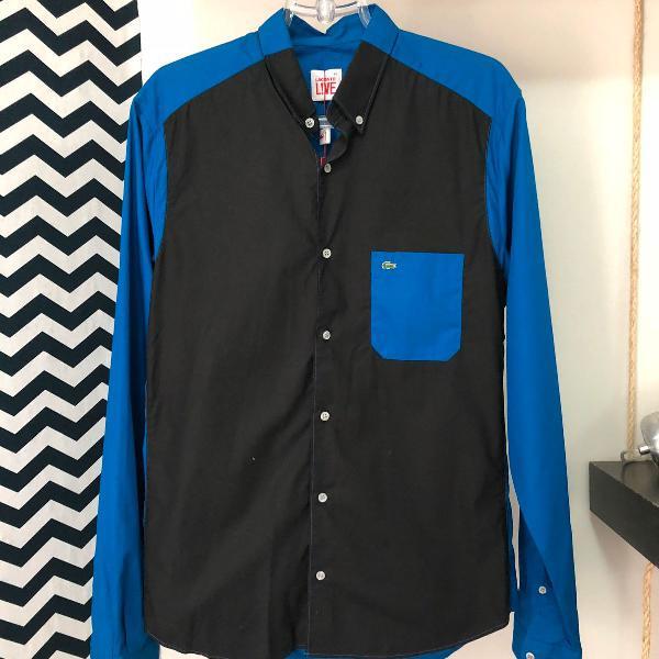 Camisa color lacoste live