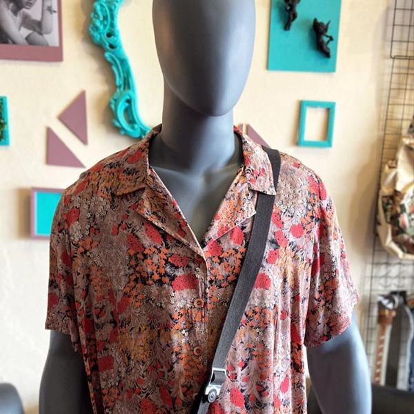 Camisa floral estampada vintage g