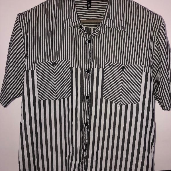 Camisa listrada rvca