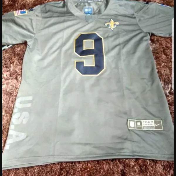 Camiseta nike futebol americano new orleans saint dreew