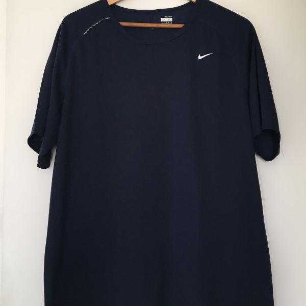 Camiseta nike dry fit xg masculina azul marinho