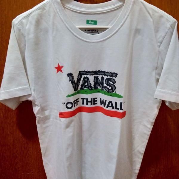 Camiseta vans branca importada