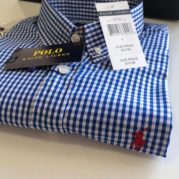 Ralph lauren camisa manga curta