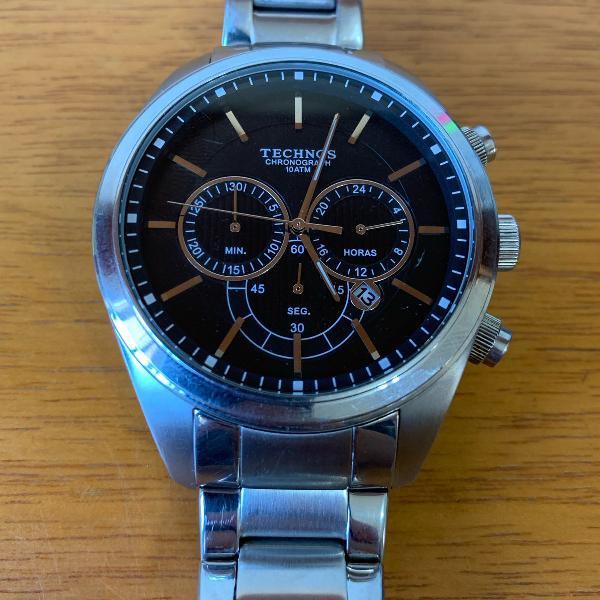 Relógio technos aço