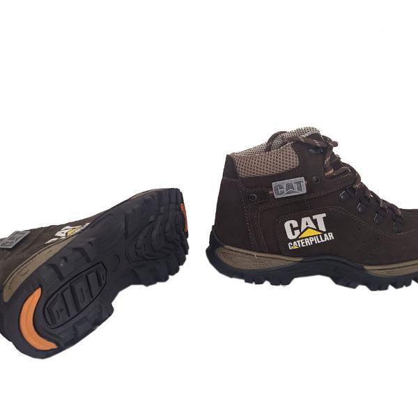 Tenis bota coturno caterpillar masculino trilha boot
