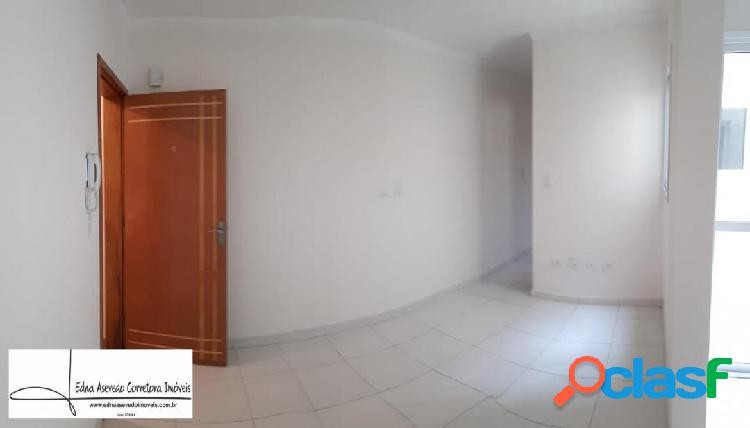 Apartamento s/cond.2 dorms.suíte - 1 vg.vl.tibiriça - sto.andré.