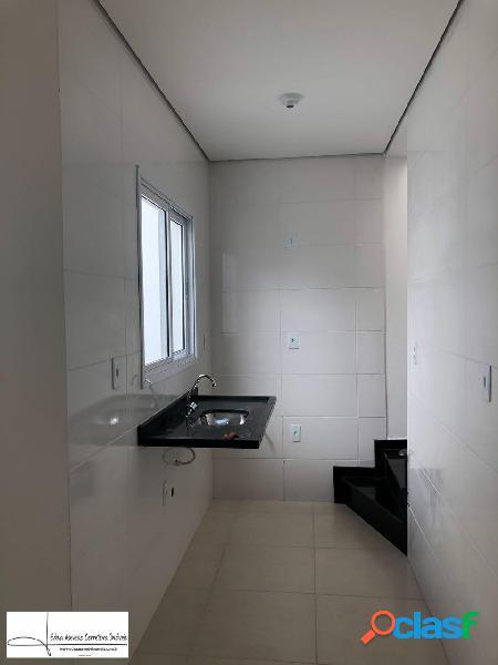 Apartamento s/cond.cob.2 dorms.1 vg.jd.las vegas - santo andré.