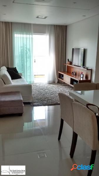 Apto 120m² 3 dorms - 1 suíte -2 vagas - bairro valparaíso - sto andré - sp.