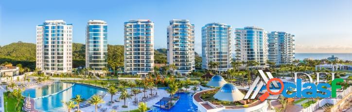 Brava home resort - apartamento mobiliado/decorado/equipado