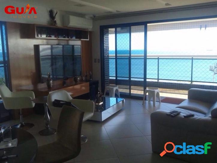 Lindo apartamento frente mar no landscape