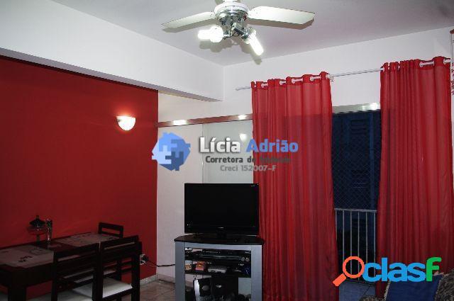 Apartamento com vista mar 2 dormitórios S.Vicente - SP