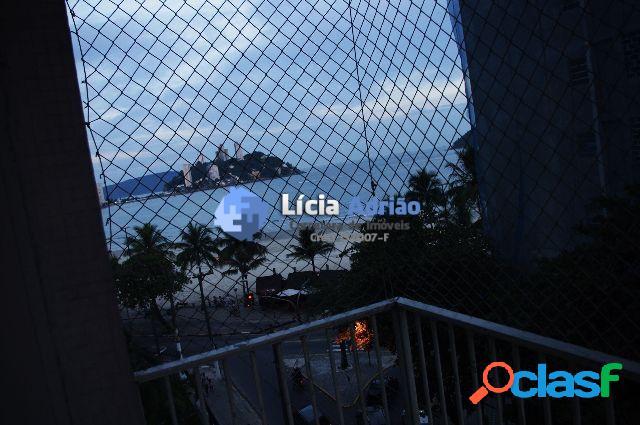 Apartamento com vista mar 2 dormitórios S.Vicente - SP 1