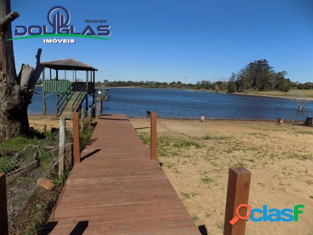 Terreno com acesso a lagoa