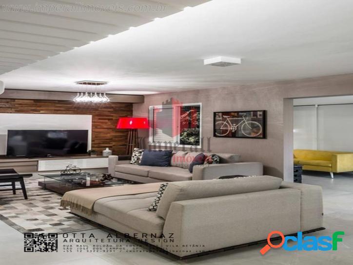 Esplanada life club sjc 167 m² 2 vagas andar baixo lindo d+