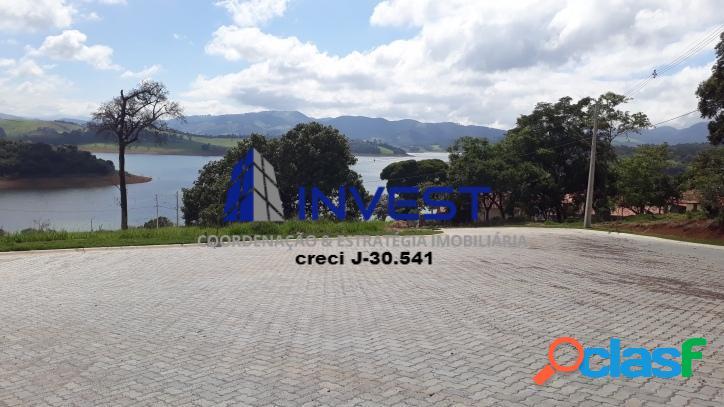 Lote de 1000m² na represa de joanópolis. morar & investir !