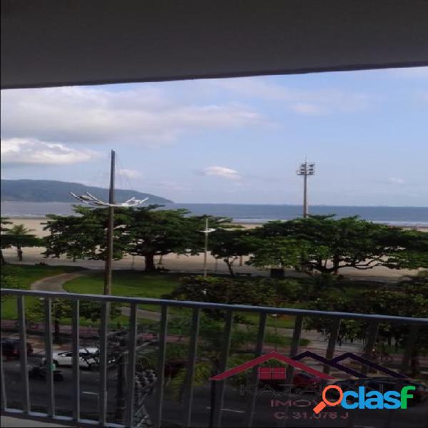 Apartamento - temporada - gonzaga - frente mar