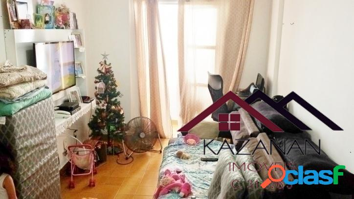 1 dorm. c/ sacada no gonzaga (shopping miramar)