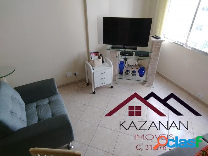 Apartamento -2 dormitórios - gonzaga - santos