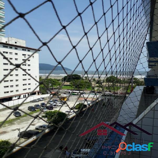 Apartamento 2 dormitórios - vista mar - Gonzaga - Santos