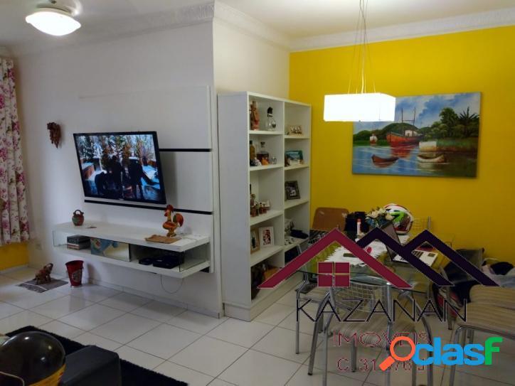 Apartamento amplo, térreo, 2 dorm(1 suíte), garagem coletiva