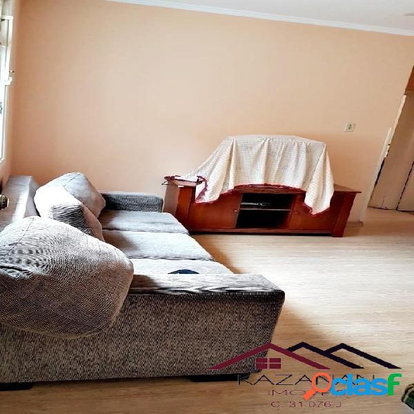 Apartamento na pompéia, santos - 2 dormitórios, 1 vaga