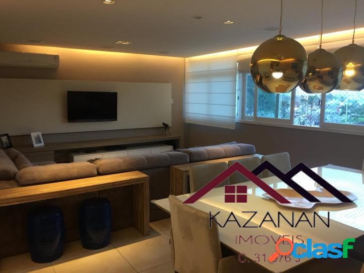 Apartamento 200 m² frente mar itararé 3 dormitórios 1 suíte