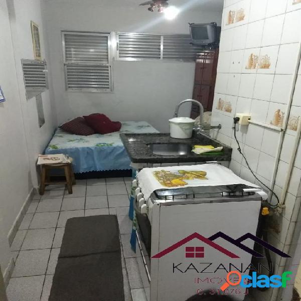 Temporada - Kitnet Mobiliada, Itararé, São Vicente 1