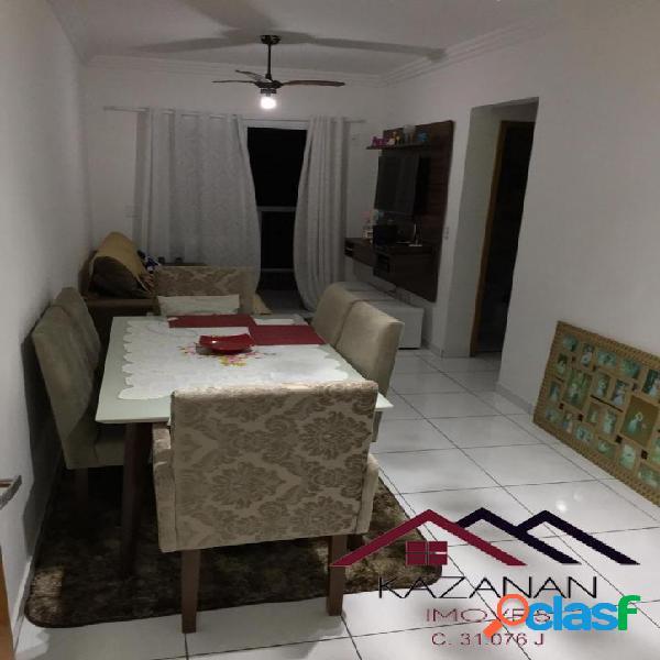 Apartamento 2 dormitórios, 1 vaga, lazer completo, bitaru, são vicente/sp