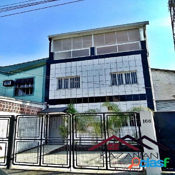 Galpão comercial triplex, com 800m² área total - Macuco, Santos - SP. 2