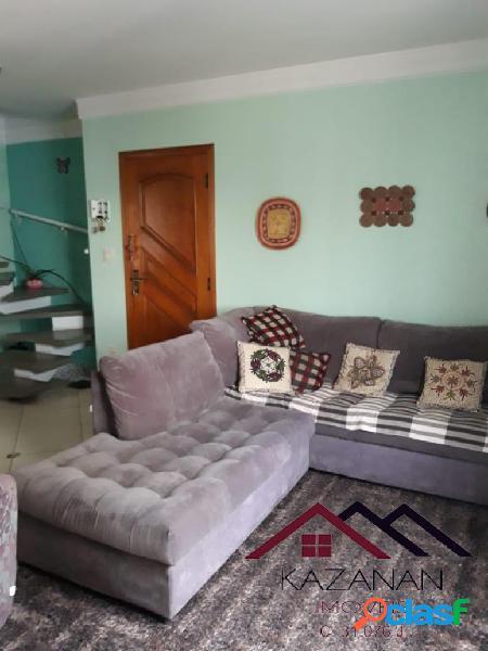 Cobertura duplex, 03 dormitórios (1suíte), 2 quadras da praia. 2
