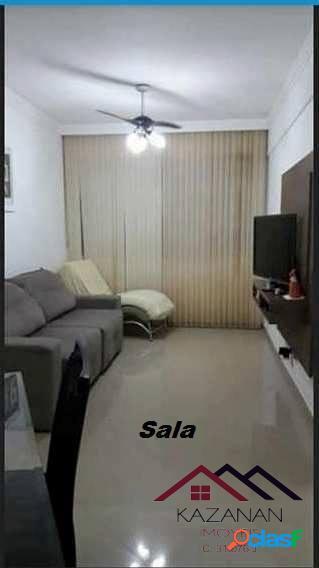 Apartamento 2 dormitórios, 1 quadra da praia, garagem coletiva, Gonzaga. 1