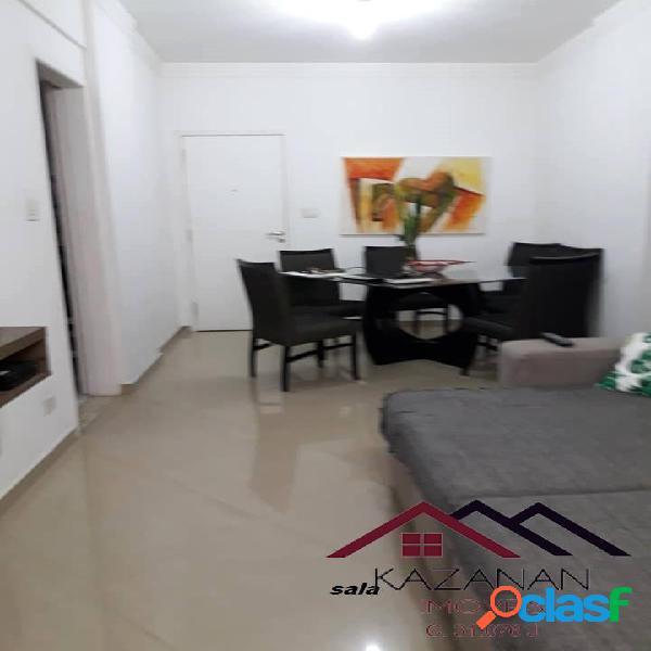 Apartamento 2 dormitórios, 1 quadra da praia, garagem coletiva, Gonzaga. 2