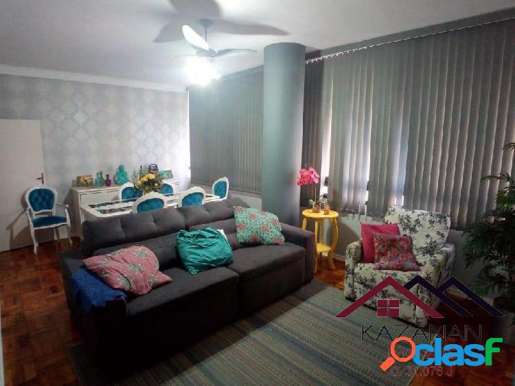 Apartamento 3 dormitórios mobiliado no gonzaga - temporada