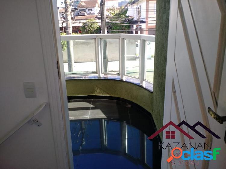 Casa Sobreposta Alta - Pronta para Morar -- Jd Sta Maria - Guaruja 2