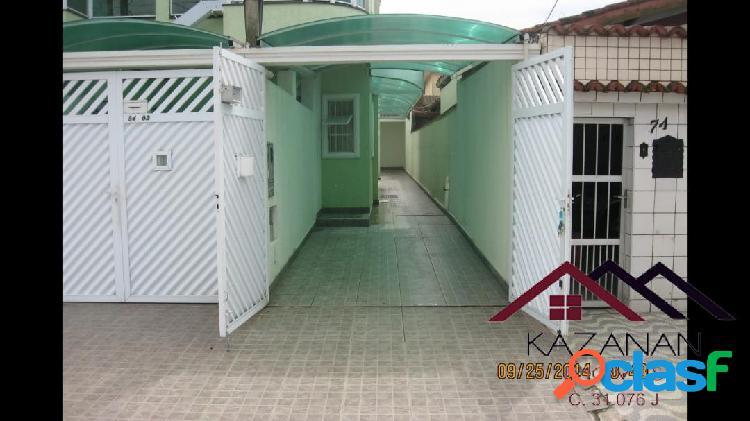 Casa térrea - 2 dorm (1 suite) - jd santa maria - guaruja