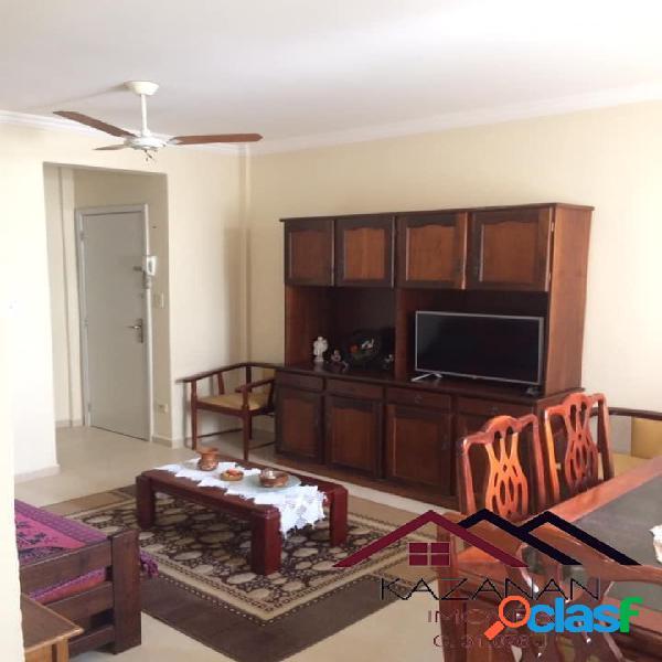 Apartamento 1 dormitório - temporada - 1 quadra da praia do gonzaga.