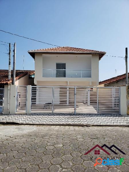 Casa nova 2 quartos bairro maracanã - praia grande