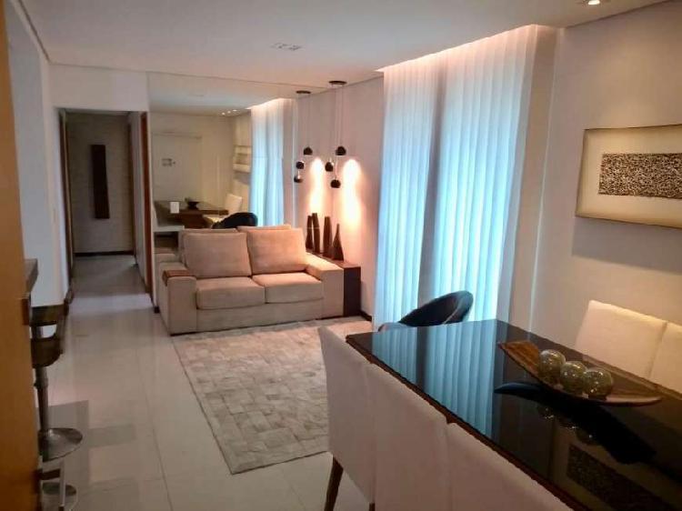 Apartamento 3 quartos, 105m², 4 vagas, todo montado, em