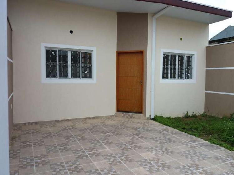 Casa térrea - nova - 3 dorm, sendo 1 suíte - villa branca