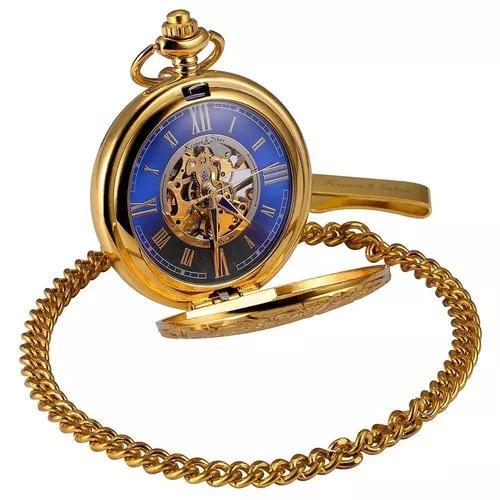 Numerais romano relógio bolso mecânico mulheres homens